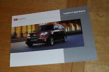 Daihatsu Materia Brochure 2008-2010