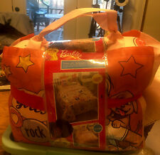 Mattel Barbie Twin Bed in a Bag~Bonus Tote Bedding Set