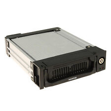 "Agestar SR1AK2F Mobile Aluminum Rack 5.25"" For 3.5"" HDD SATA Hot-Swap With Fan"