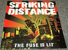 Striking Distance The Fuse Is Lit Unplayed White Vinyl Limited 300 2013 Hardcore