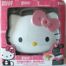 NIB Hello Kitty White Pink Cupcake Muffin Brownie Maker Kitchen Home Appliance