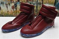 Maison Margiela Red Future High-Top Sneakers - Size 43 - $950