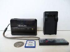 CASIO EXILIM EX-V7 DIGITAL CAMERA WIDE SCREEN w/ SD Memory Card & Charger Bundle