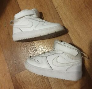 Nike Air Force Trainers Shoes Toddler Size 5.5 UK Fast Postage