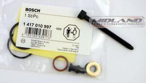 Original Bosch Pd Einspritzdüse Sitz Set & Stretch Bolt 1417010997 Audi Skoda VW