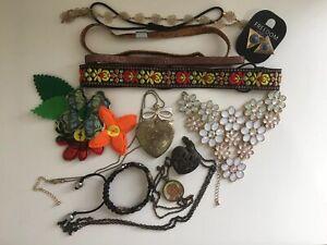 Kitsch Quirky Cottagecore Jewellery Bundle - Necklaces - Bracelet - Earrings Etc