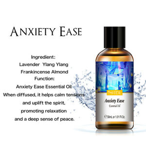 Aromatherapy Anxiety Ease Essential Oils Pure Undiluted Essential Oil Fragrances