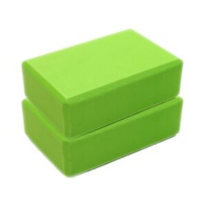 2PC EVA Foam Yoga Blocks Balance Accessories Stretch Exercise Brick Prop