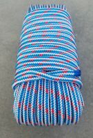 "1/2"" x 100' Arborist tree climbing rope 16 strand braided !! FREE SHIPPING !!"