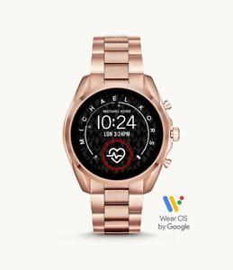 Michael Kors Bradshaw 2 Gen 5 Rose Gold Tone HR Touchscreen SmartWatch MKT5086