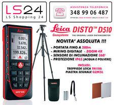 Leica DISTO D510 Nuovo Modello + TRI 100 - Compatibile con Apple Iphone & Ipad