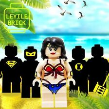 **Pre-order** LEYILE BRICK Custom Wonder Woman Lego Minifigure
