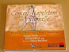 Concerti Napoletani per Violoncello - Gaetano Nasillo, Ensemble 415
