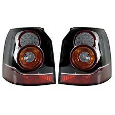 LAND ROVER FREELANDER 2 NEW BLACK LED REAR TAIL LIGHTS X2 FACELIFT LIGHT UPGRADE