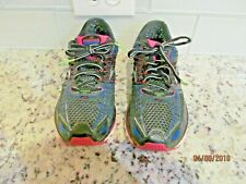 Brooks Glycerin 12 Black Pink Blue Running Shoes Women's Size Us 8