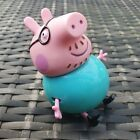 RARE Character Options Ltd. Peppa Pig - Daddy Pig - Large Action Figure Toy Doll