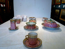 Aa Vantine Demitasse set: 26 Pieces, including Creamer, Sugar Bowl, Covered Dish