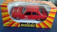 DIECAST-SOLIDO Fire/ Pompiers  car Renault  France .1/43.