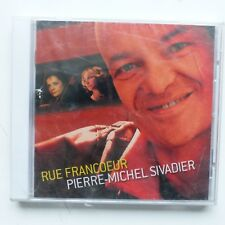 CD Album pierre michel sivadier Rue Francoeur    EX08