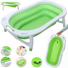 iSAFE Flat Foldable Recline Born Baby Bath - Lime