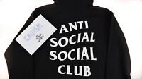 Anti Social Social Club Mind Games Hoodie Black Brand New 100% Authentic