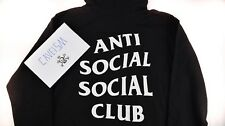 Anti Social Social Club Mind Games Hoodie Black S-XL Brand New 100% Authentic