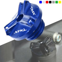 with logo Engine Oil Filter Cup Plug Cover Screw For Yamaha Tmax 530 2013-2017