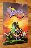 1999 Spyro the Dragon / Metal Gear Solid Very Rare Poster 56x40cm Playstation 1