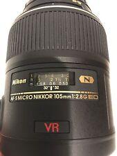 Nikon Nikkor Lens AF-S Micro-Nikkor 105mm F/2.8g IF-ED - BRAND NEW!