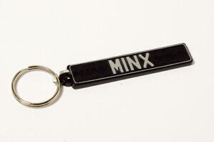 Hillman Minx Keyring - UK Number Plate Classic Car Keytag / Keyfob