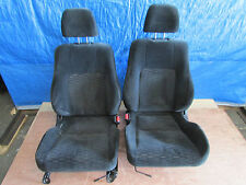 JDM 97-01 Honda Prelude BB6 OEM Cloth Left & Right Front Seats Pair H22a