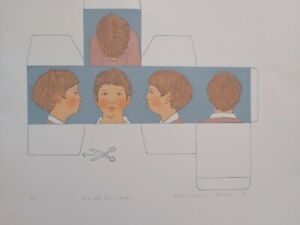 Mary Beresford Williams (1931-) 1981 screen print  no' 8 of 10 The All Rounder