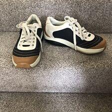 MBT Tataga Denim Blue Size 5.5 Athletic Walking Toning Shoes Trainers