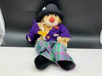 Sigikid Stofftier Sammler Clown Puppe 32 cm. Top Zustand