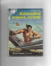 Astounding Science Fiction Nov 1954  Roller Coaster Cover!
