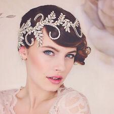 Wedding Bridal Crystal Rhinestone Silver Crown Headbands Tiara Hair Accessories
