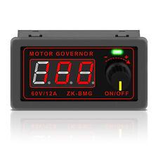 Motor Speed Controller Pwm Dc Motor Governor Led Adjustable Speed Regulator Us