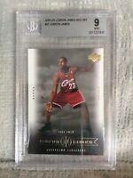 2003 Upper Deck Lebron James Box Set #27 LBJ Rookie Card BGS 9