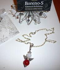 Modeschmuck-Halsketten aus Edelstein mit Perle