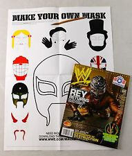 Rey Mysterio Jr August 2007 Poster / Magazine Raw WWE WWF Mask Lucha Libre