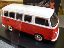 1/43 Ixo Premium X VW T2 Bus 1976 rot/weiß PRD344