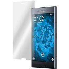 4 x Sony Xperia XZ Premium Película protectora de fibra de vidrio claras