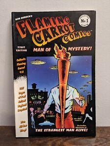 Flaming Carrot: Man of Mystery : Bob Burden Dark Horse Comics Graphic Novel