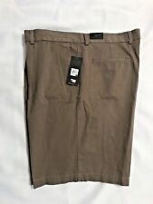 NWT ACUITY Mens Pleated Shorts- Green-Size 40-Cotton