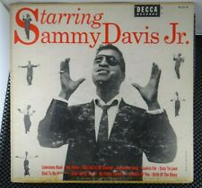 Sammy Davis Jr. – Starring Sammy Davis Jr. (Decca – DL 8118)
