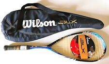 New ~ Wilson Blx One.45 (One 45) Squash Racquet w/ Carrying Case ~ Very Good