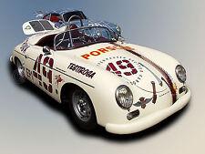 1957 Porsche 356A Gt Classic Vintage Antique Race Car Photo (Ca-0043)
