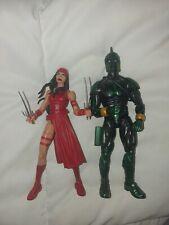 elektra and Genis-Vell marvel legends Figures