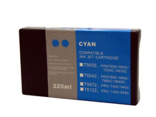 InkOwl 220ml CYAN Compatible Cartridge for EPSON Stylus Pro 7880 9880