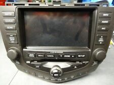 2003-2007 Honda Accord Navigation GPS Screen Radio 6 CD Player W/CODE 2CK3